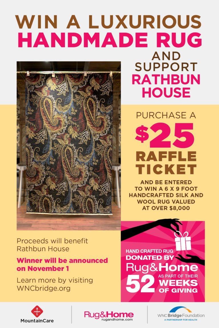 Silk and Wool Rug Rathbun House